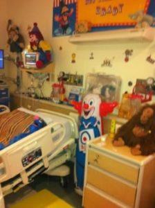 Brady's Hospital Room